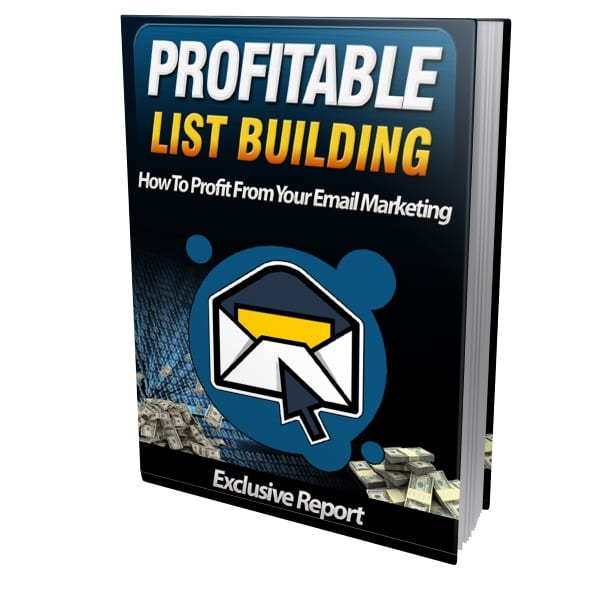 how to build a profitable email list fast
