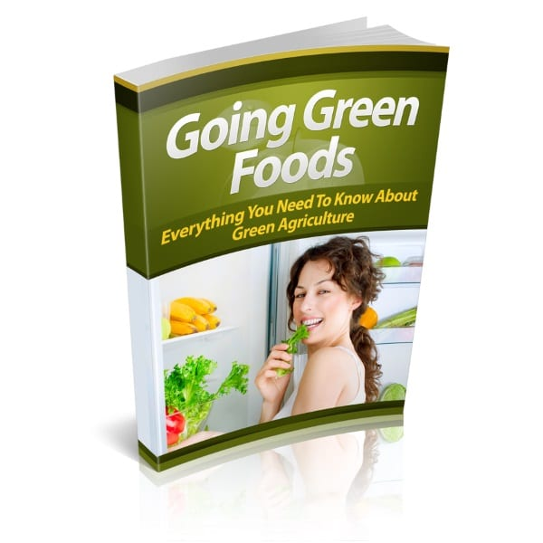 best foods for going green